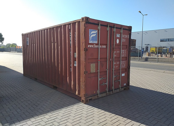 20' DV tweedehands container