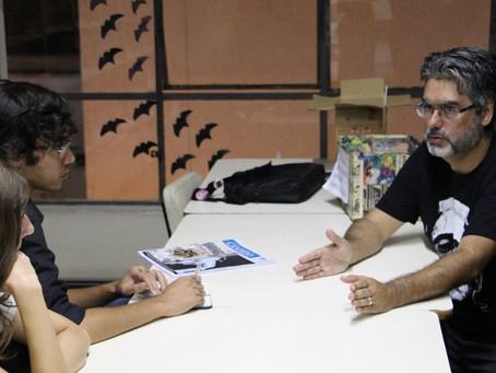 Biblioteca Pública do Paraná oferta curso de histórias em quadrinhos.