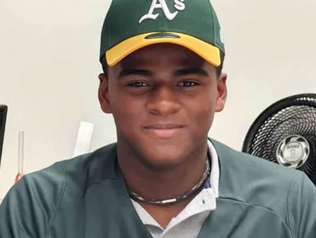 Atleta de Londrina é o mais novo do país a assinar com time de beisebol dos EUA.