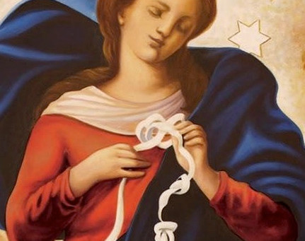 """Maria - die """"Knotenlöserin"""""""