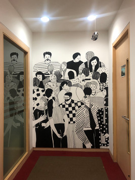 Wall Mural For Pramati Technologies