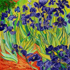 'Irises' by Vincent van Gogh