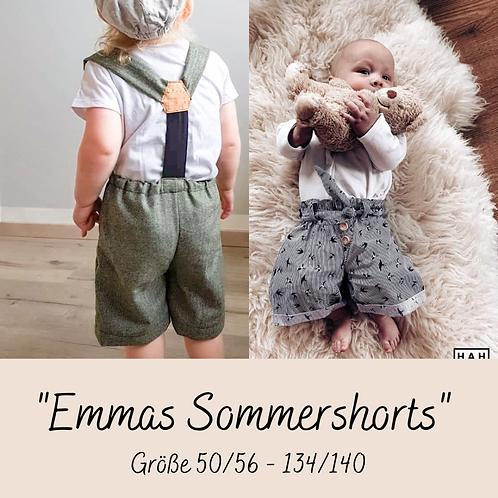 """Schnittmuster """"Emmas Sommershorts"""""""