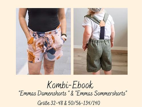 "Kombi Ebook""Emmas Damenshorts"" & ""Emmas Sommershorts"""