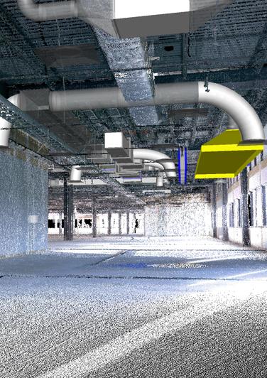 3D SCAN - MEP  SHOP DRAWINGS