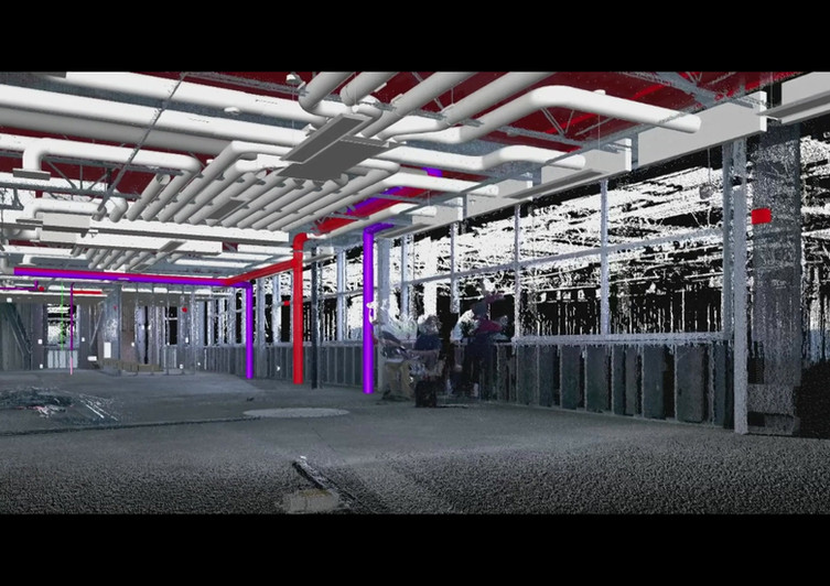 3D SCANNING AND MEP SHOP DRAWINGS