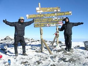 Climbers on Uhuru peak.JPG