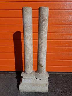 Ensemble de 2 Colonnes en marbre