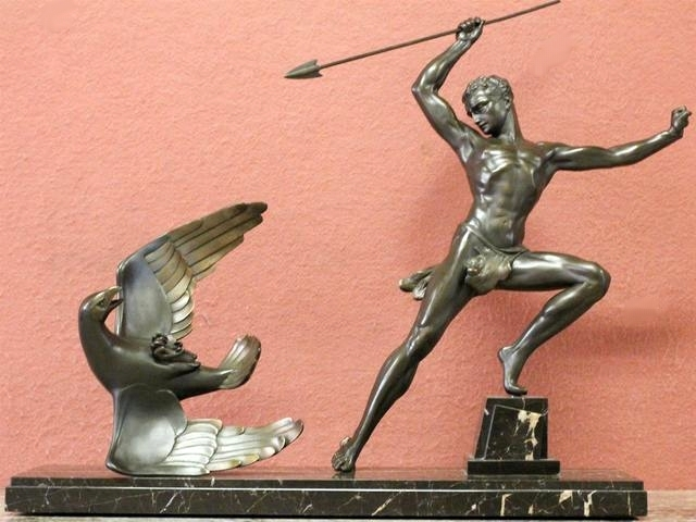 Bronze de Jean de RONCOURT