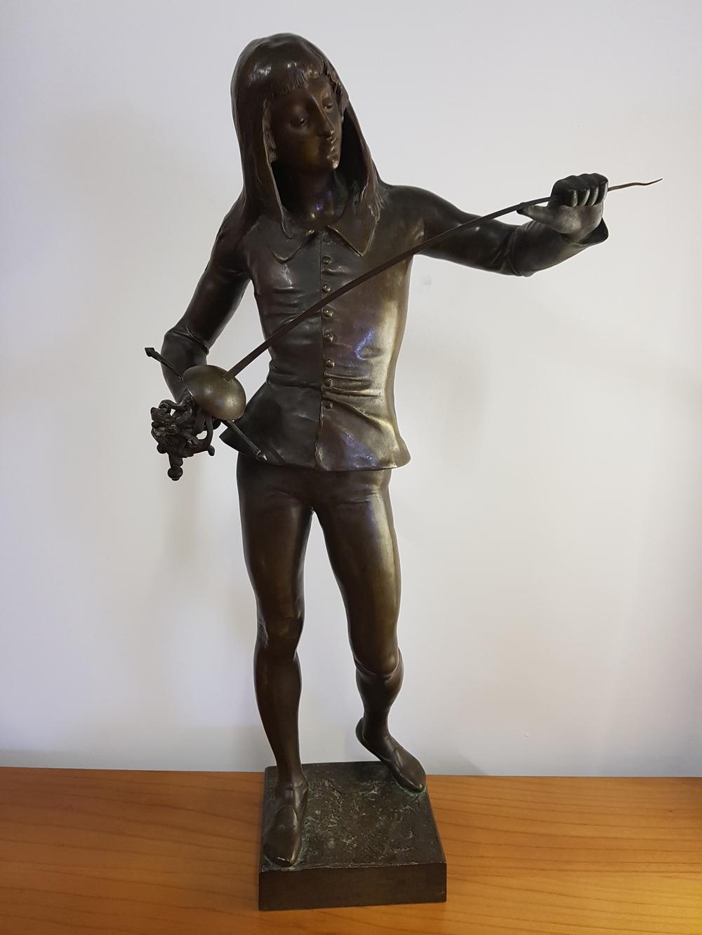 Bronze de Emile Laporte