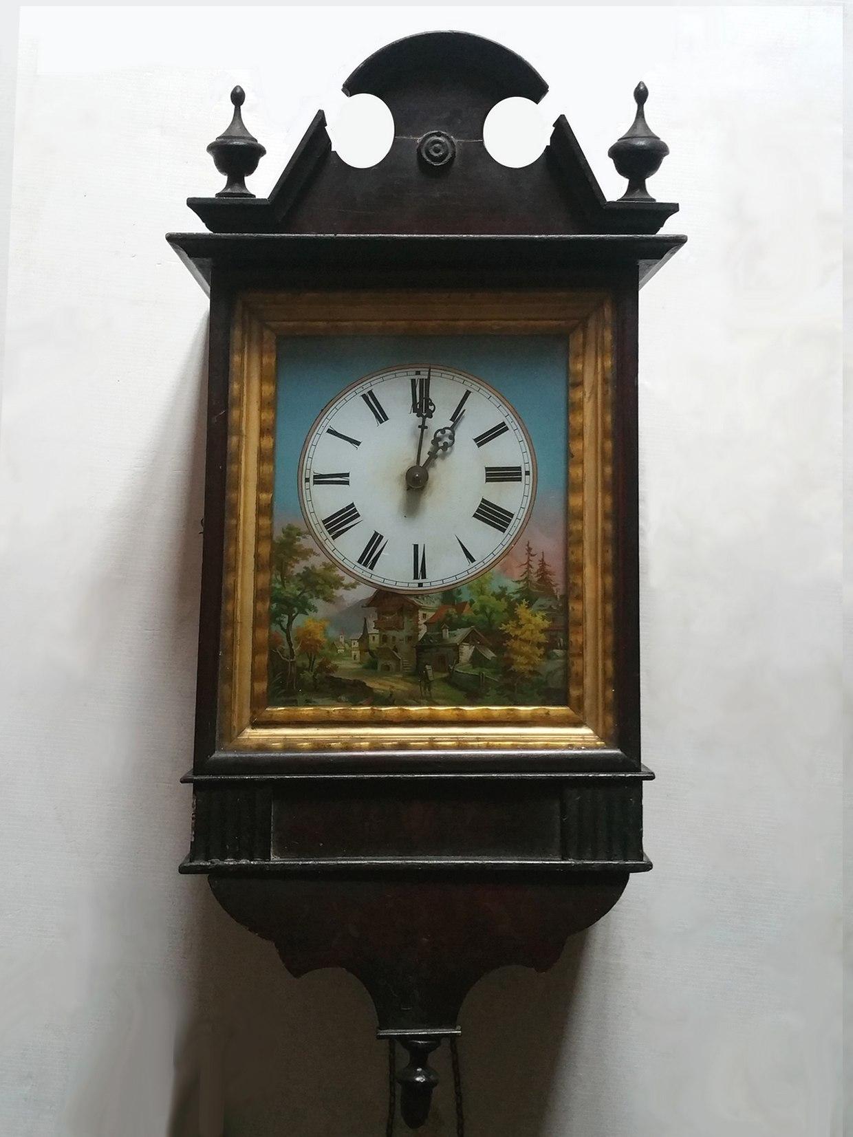 Horloge d'applique 19e