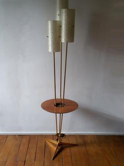 Guéridon lampadaire