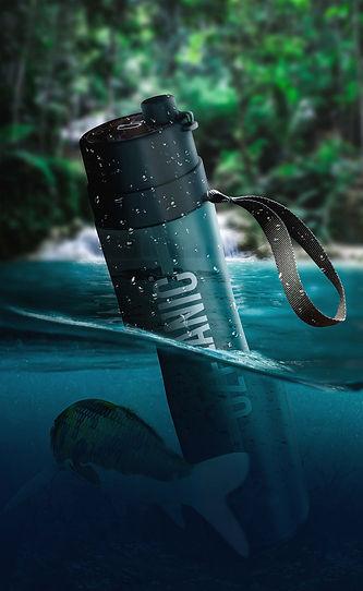 botella ozeanic purifica agua