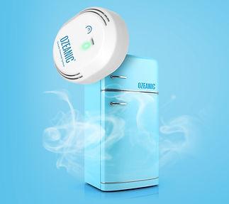 Ozeanic mata olores y desinfectante para nevera con ozono