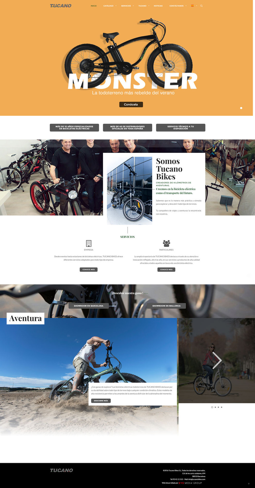 Gerrd Moreno |Diseñador gráfico y fotógrafo freelance | Diseño web pra tucano bikes