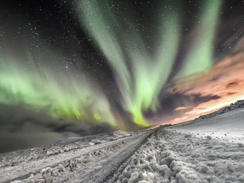 Islandia, Aurora Boreal 2018