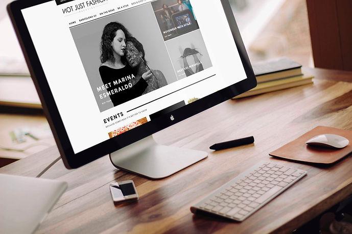 Gerrd Moreno  Diseñador gráfico y fotógrafo freelance   Diseño web para Notjustfashion magazine