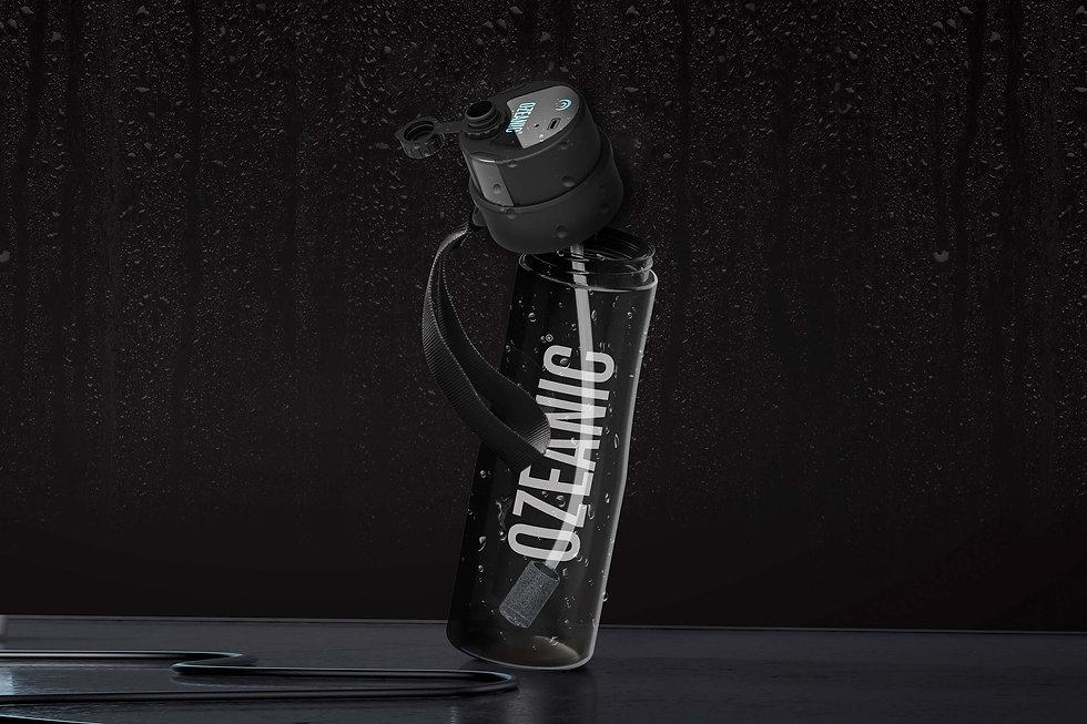 Aworldinone botella purificadora de agua con batería y sin filtros