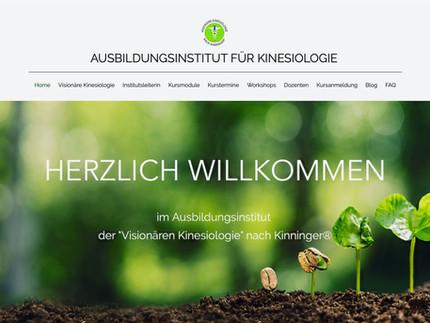 Das Ausbildungsinstitut startet mit neuer Homepage
