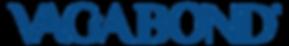 Logo Vagabond Azul Palabra Ligero