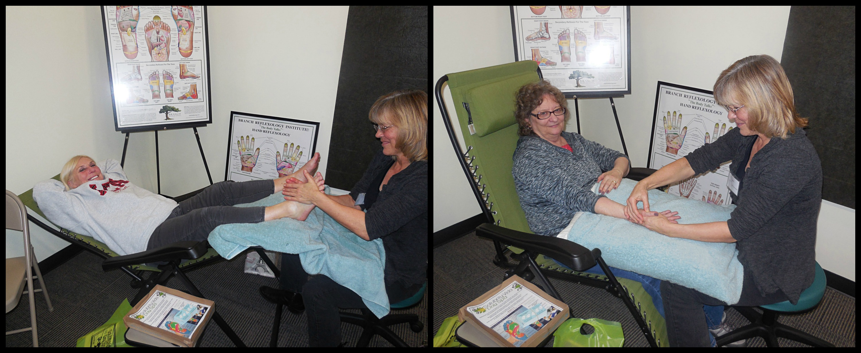 Hand & Foot Reflexology with Lynn