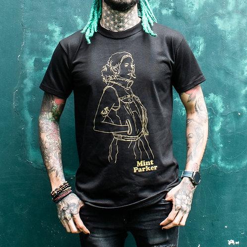 MINT PARKER Black T-Shirt