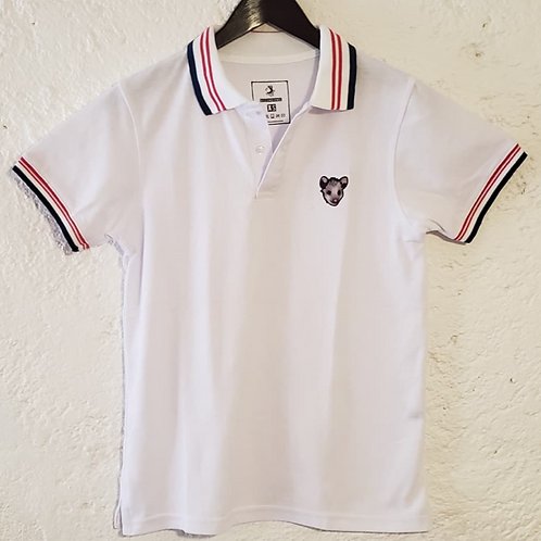 WHITE TLACUA POLO