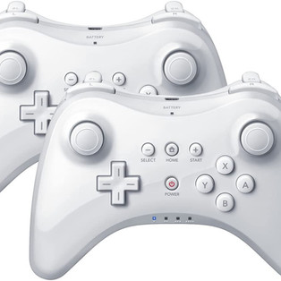 Wireless Game Controller for Nintendo Wii U Pro (2 Packs)