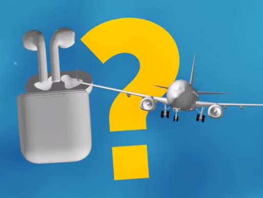 Is It Allowed to Use AirPods on a Plane?
