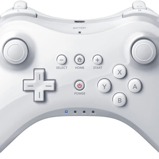 Wireless Game Controller for Nintendo Wii U Pro