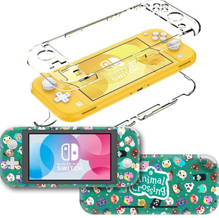 Animal Crossing Sticker Decal & Clear Case for Nintendo Switch Lite