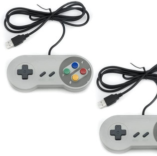 USB Game Controllers (2 Packs)