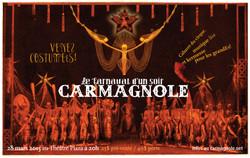 Affiche du cabaret Carmagnole 2015