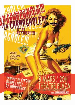 Affiche du cabaret Carmagnole 2013