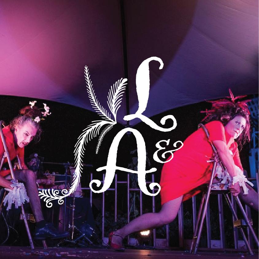 Laurette & Arlette, duo de clowns musiciennes