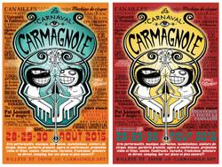 Affiche du Carnaval Carmagnole 2015