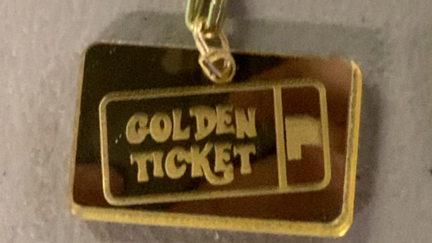 Golden Ticket Chain Necklace