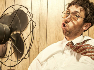 Are you too hot in the office? Read these tips for staying cool
