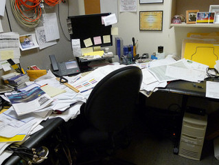 Today is National Clean Your Desk Day!