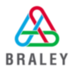 Braley logo Braley business systems office supplies office furniture educational supplies