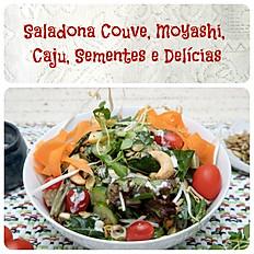 Saladona Couve, Moyashi, Caju, Sementes e Delícias