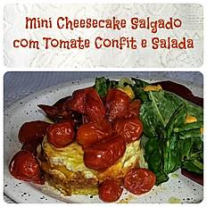 Mini Cheesecake Salgado de Kefir