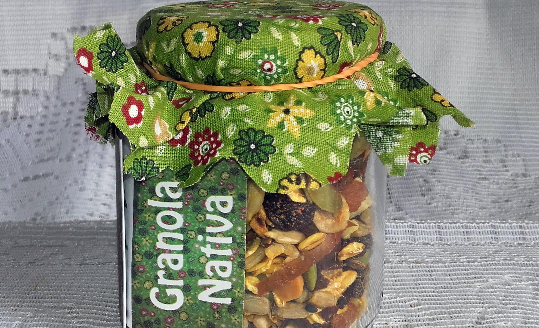 Granola Nativa em Vidro