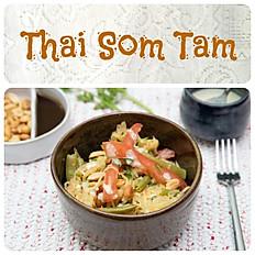 THAI Som Tam - Salada Vegetariana de Papaia Verde