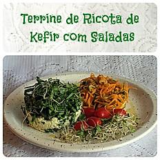 Terrini de Ricota de Kefir com Saladas