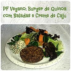 PF Vegano: Quinua, Brócolis, Creme de Caju