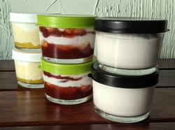 Tigelinhas de Iogurte Grego
