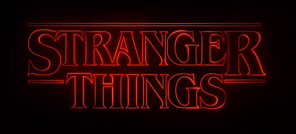 Stranger Things Typography