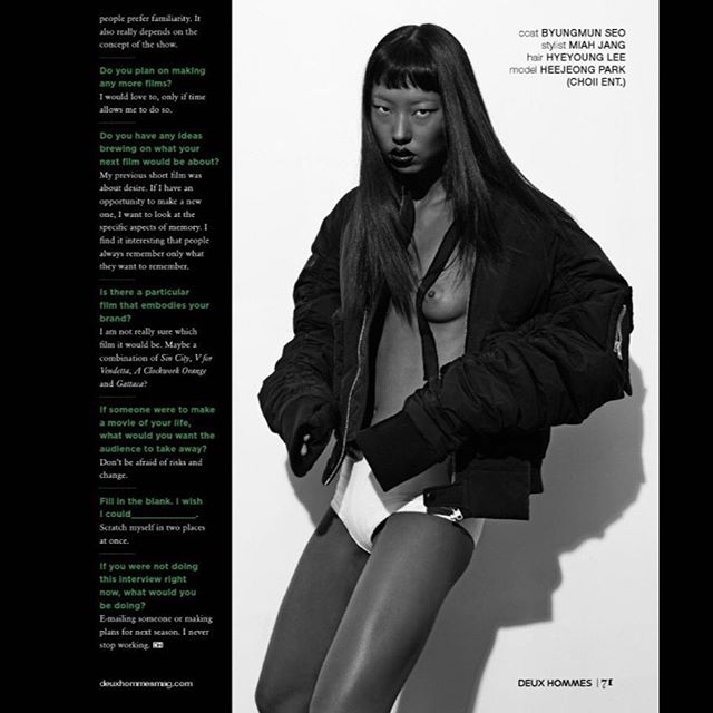 FEATURED ON DEUX HOMMES