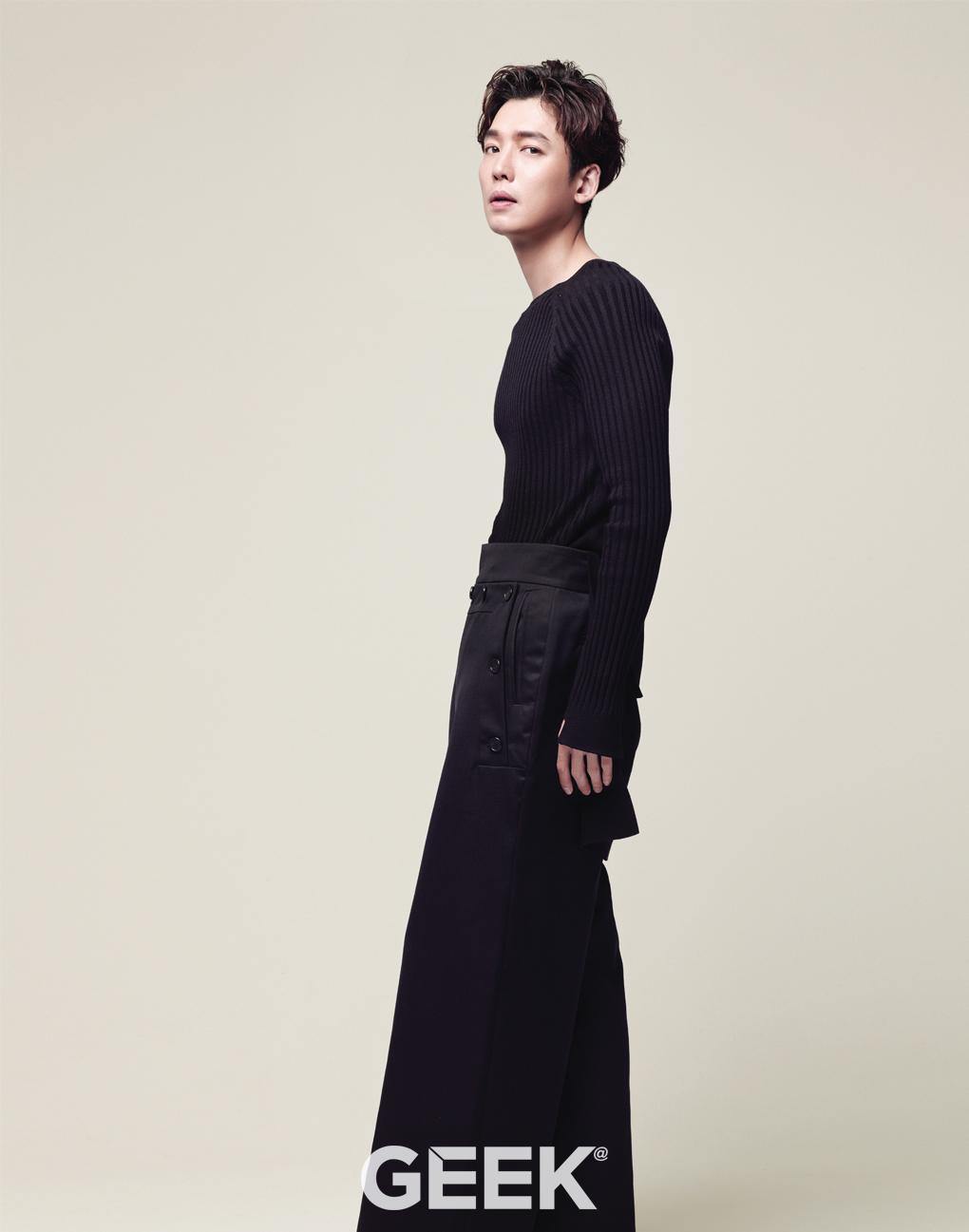 Jeong Kyeongho, Actor on Geek Mag.